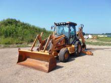 2006 CASE 590SM II Backhoe load