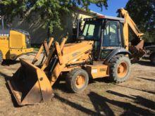 CASE 580SL II Backhoe loader