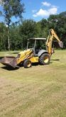 NEW HOLLAND 555E Backhoe loader