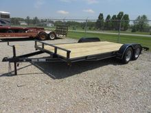 2017 P and T Trailers 82x18 WCH