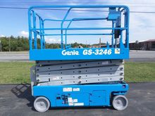 2007 GENIE GS3246 Scissor lifts