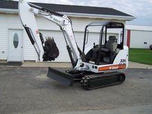 2005 BOBCAT 334G Excavators