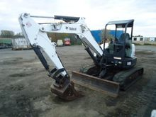 2012 BOBCAT E45 Mini excavators