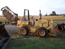 1998 CASE 660 Trenchers