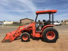 2008 KUBOTA M59 Backhoe loader
