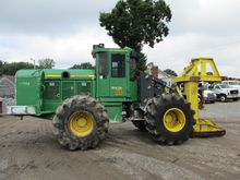 2013 DEERE 843K Feller bunchers