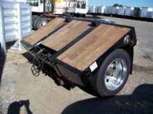 2001 TRAIL KING FLIP AXLE Doubl