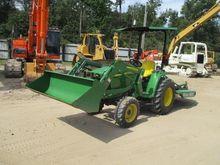 2015 JOHN DEERE 3032E Tractors