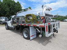 2016 FORD F550 Sewer flusher