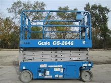 2008 GENIE GS2646 Scissor lifts