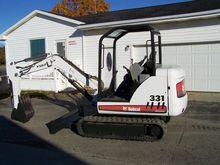 2006 BOBCAT 331 Mini excavators