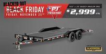 2017 PJ Trailers B5 Car hauler