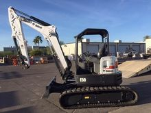 BOBCAT E50 Mini excavators