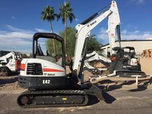 BOBCAT E42 Mini excavators