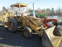 1986 FORD 555B Backhoes