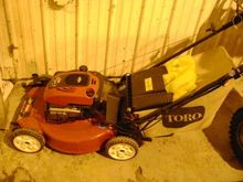 2010 Toro 22 Mower - walk behin