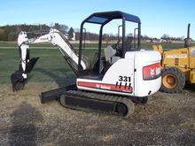 BOBCAT 331 Excavators