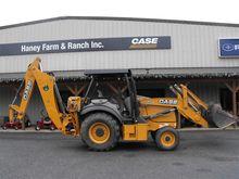 2015 CASE 580N Backhoe loader
