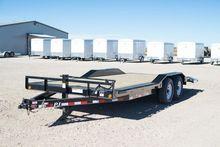 2017 PJ Trailers B6 Car hauler