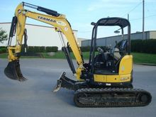 2015 YANMAR VIO35-6A Excavators