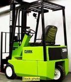 CLARK 4k Cusion Tire Forklift F