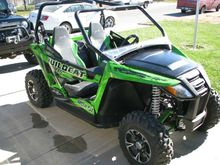 2014 Arctic Cat Wildcat Trail X