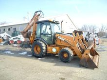 2002 CASE 590SM Backhoe loader