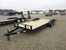 2017 P and T Trailers 82x20 WCH