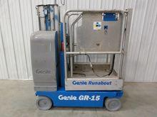 2007 GENIE GR15 Lifts