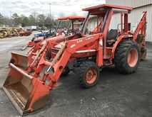 2002 KUBOTA L48 Backhoe loader