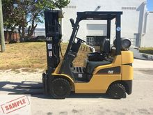 2008 CATERPILLAR C5000 Forklift