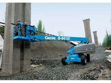 2016 Genie S-60X Work platforms
