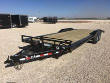 2017 PJ Trailers B6 Car hauler