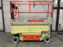 2017 JLG 2630ES Scissor lifts