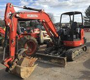 2014 KUBOTA KX040-4R1A Excavato
