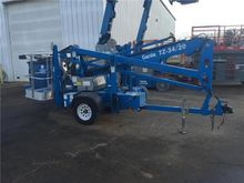 2012 Genie TZ34/20 Towable lift