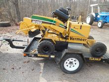 2011 VERMEER SC252 Stump cutter