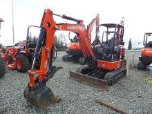 2015 KUBOTA U35-4R1A Excavators