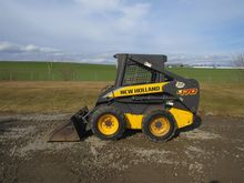 2010 NEW HOLLAND L170 Skid stee