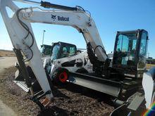 2017 Bobcat E85 T4 Excavators