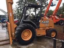2012 CASE 586G Rough terrain fo