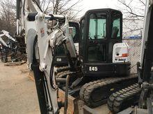 2015 Bobcat E45 T4 Excavators