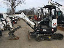 2015 Bobcat E26 T4 Excavators