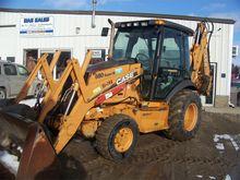 2006 CASE 580SM II Backhoe load