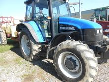 NEW HOLLAND TS-90 4X4 CAB Tract
