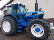 FORD 8630 4x4 cab Tractors