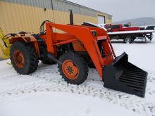 KUBOTA 7030 4x4 loader Tractors