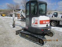 2011 BOBCAT E35 Excavators