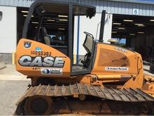 2012 CASE 650J LGP Dozers