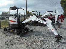 2017 BOBCAT E26 Excavators